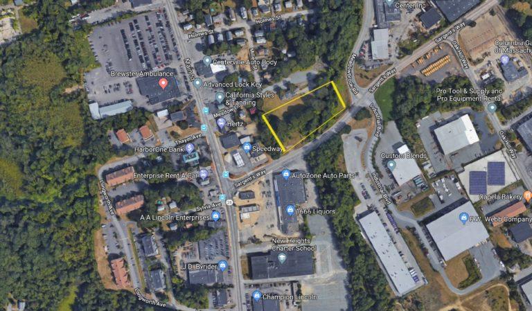 Aerial 30 Sargents Way Brockton